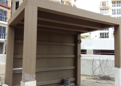 Composite Timber Pavilion at Pasir Ris Condo