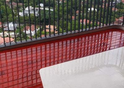 Condominium Balcony at Holland Road