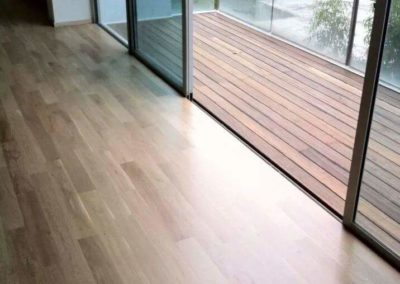 IPE Timber Decking at East Coast Road