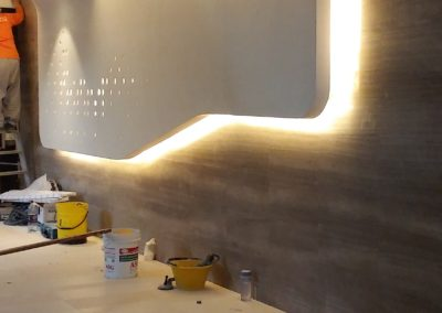 Office Feature Wall at Jurong Lakeview